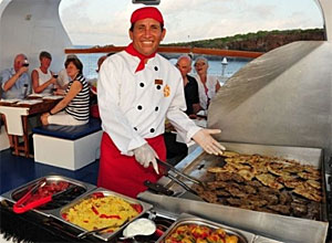 how to become a chef on a cruise ship